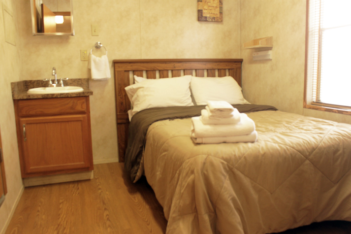 Weekly cleaning and fresh linens
