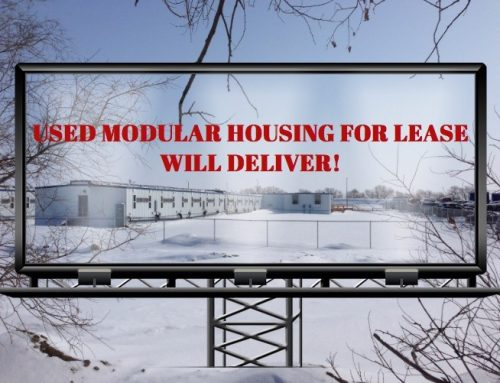 """Mancamp for Lease!"" How Oil is Selling Used Workforce Housing Units"