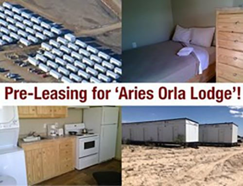 Aries is Now Pre-Leasing for Orla Lodge in West Texas